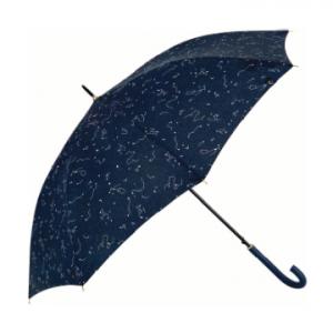Paraguas con estampado del firmamento
