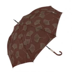 Paraguas con estampado hoja Ginkgo Biloba